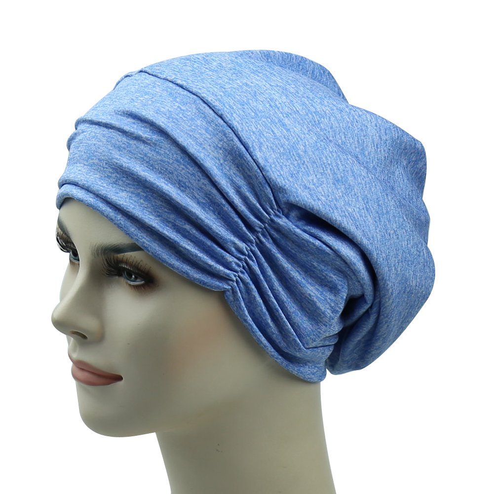Satin Lined Sleep Cap For Frizzy Hair Gifts For Long Hair Girl Curly Headwear
