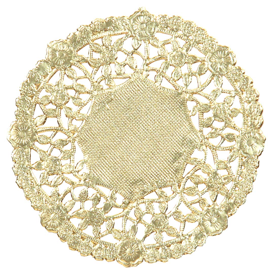 Hygloss Products 10 Inch Gold Foil Doilies - Round Doilies Made in the USA, 12 Pack Inc. 6121