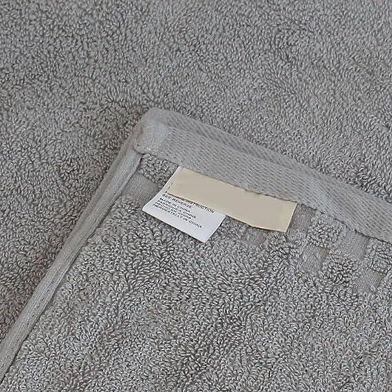 XIAOLINZI Hotel de Cinco Estrellas Simple Toalla de Baño Peinado Engrosamiento de Algodón para Aumentar la Toalla de Baño Esponjoso Gris Cómodo 35 * 70 ...