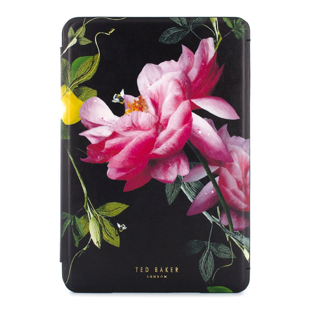 c12b711fd Official TED BAKER® AW16 iPad Mini 4 Case - Luxury Folio Style Case  Cover  in Floral Design for Women with Multi Angle Stand Function