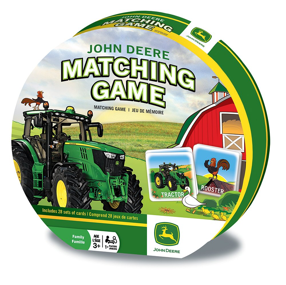 Amazon.com: MasterPieces John Deere Matching Game Cards: Toys & Games