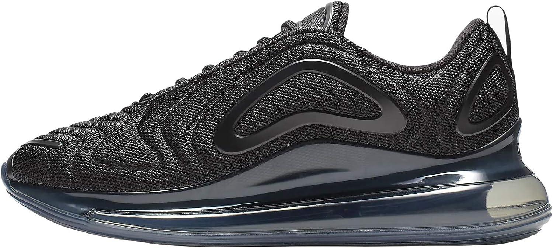 Nike Wmns Air Max 720 Ar9293-006, Scarpe da Ginnastica Basse Donna Nero Black Ar9293 006