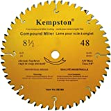 Kempston 99360 8-1/2-Inch by 48 Tooth Industrial Thick Kerf Sliding Compound Miter Blade with 5/8-Inch Arbor