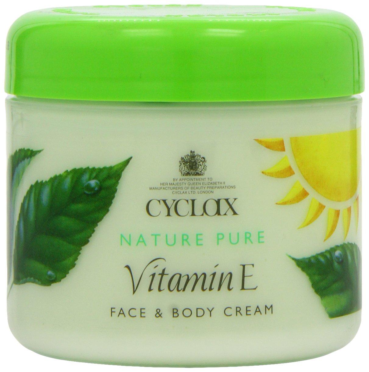 Cyclax, Nature Pure Vitamin E Face and Body Cream 000790, 300 ml