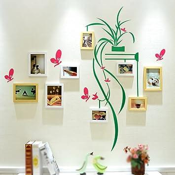 ASL Massivholz-Foto-Wand-kreative Kombination-Rahmen-Wand-kreative ...