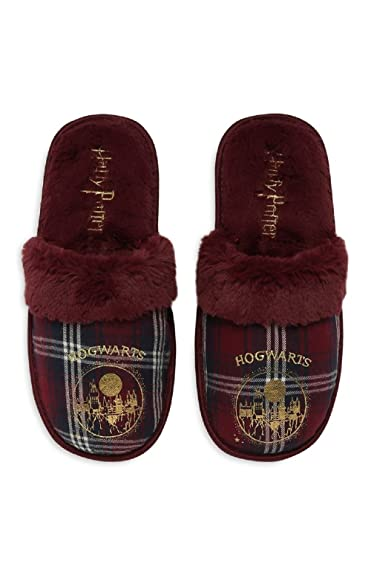 25a10d3415f2 Primark Ladies Girls Womens Harry Potter Hogwarts Gryffindor House Slippers  Mules UK S-L (UK M 5-6) Sold by PENTA06  Amazon.co.uk  Shoes   Bags