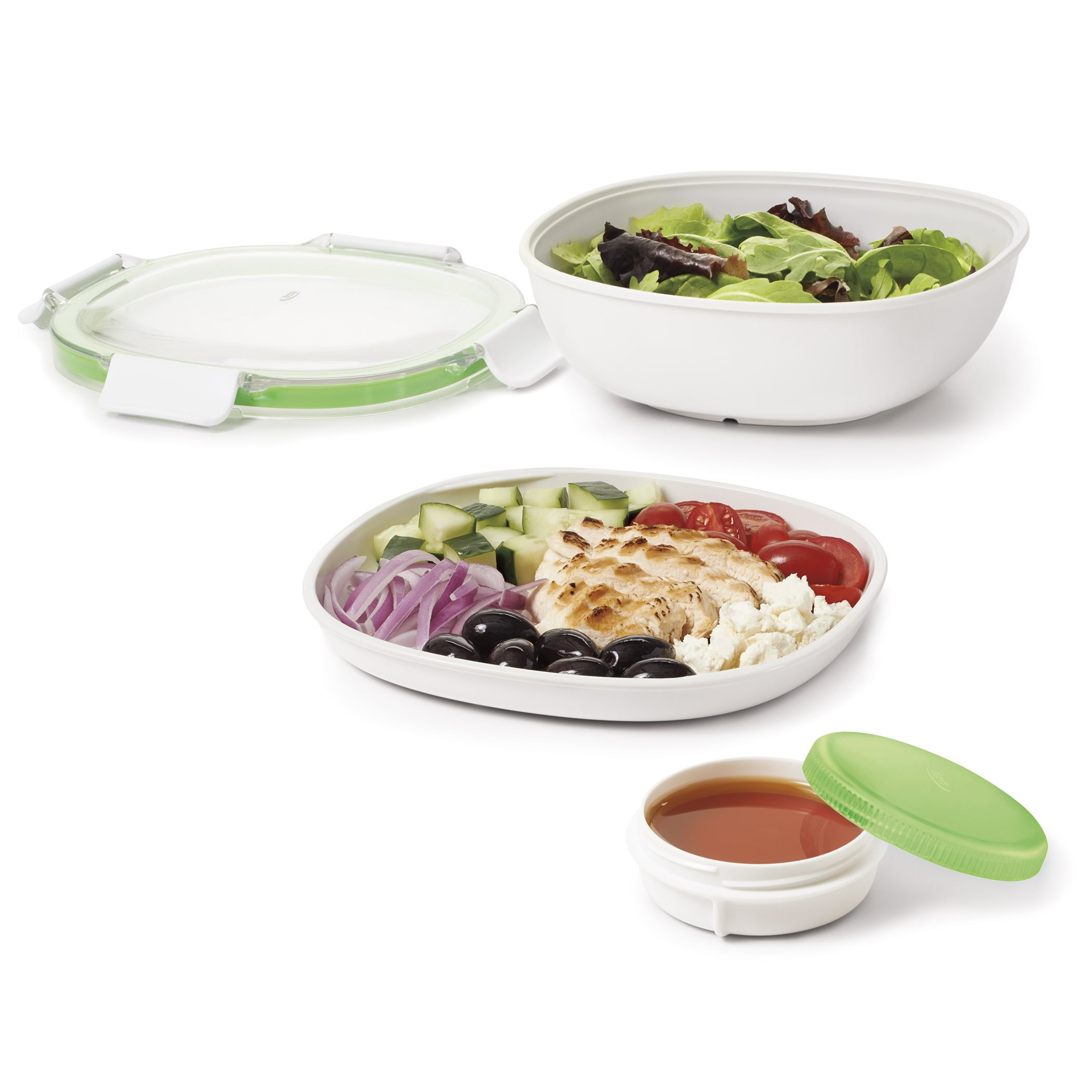 OXO Good Grips Leakproof On-The-Go Salad Container by OXO (Image #3)