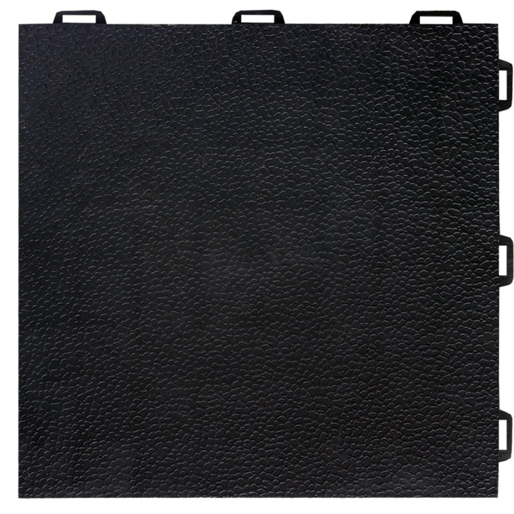 Greatmats StayLock Modular Orange Peel Tile 26 Pack (Black) by Greatmats