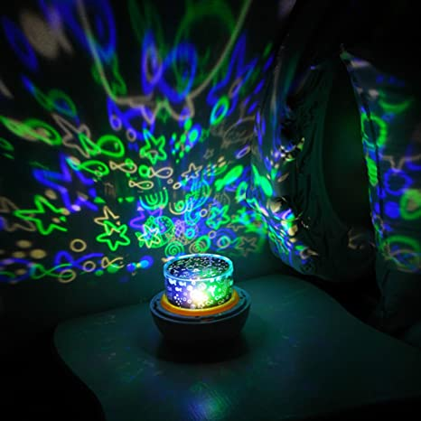 magic diamond project lamp starry led rotating star light projector