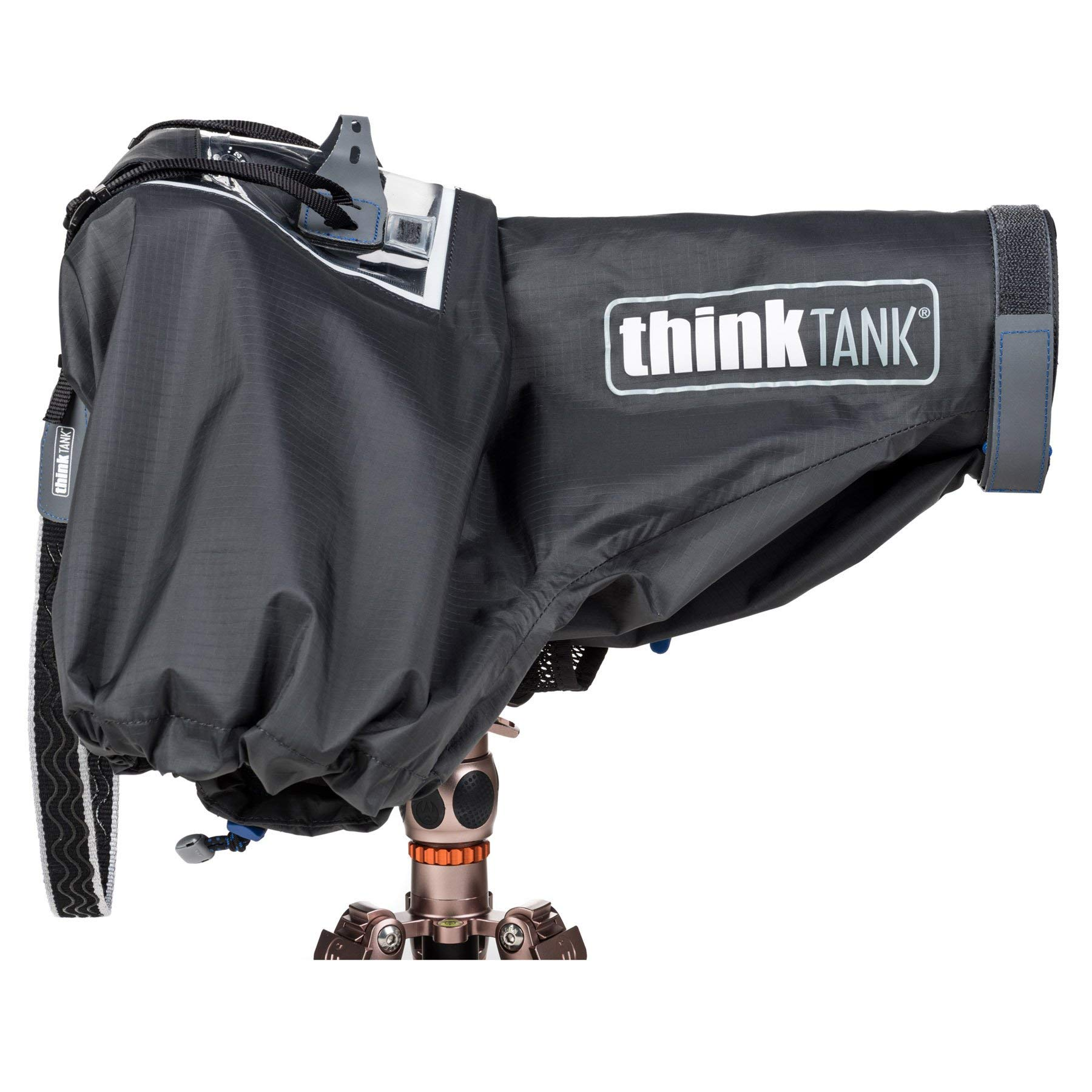 Think Tank Photo Hydrophobia D 70-200 V3 Camera Rain Cover for DSLR Camera with 70-200mm f/2.8 Lens by Think Tank (Image #4)