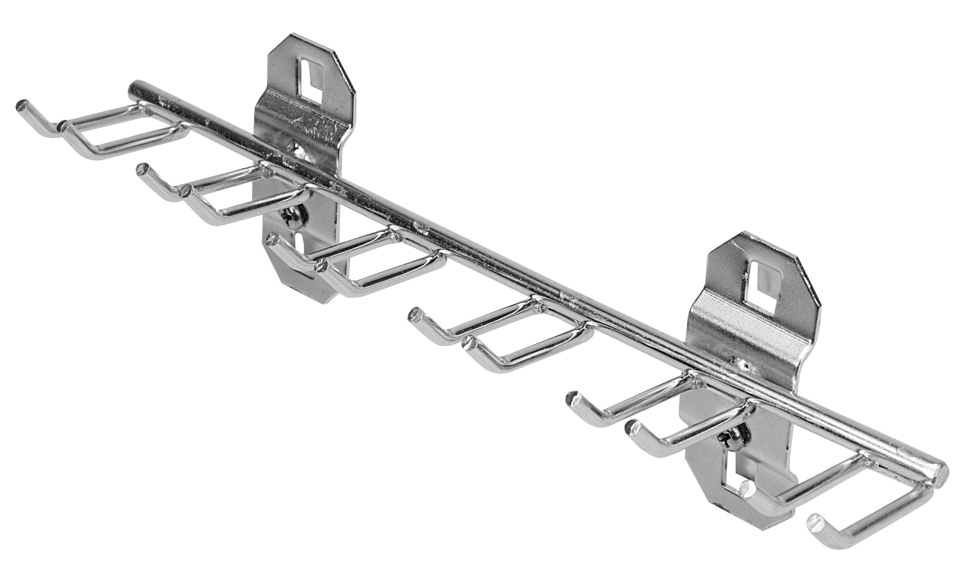 Triton Products 66660 Stainless Steel LocHook 8-1/8-Inch W with 3/4-Inch ID Multi-Prong Tool Holder for Stainless Steel LocBoard