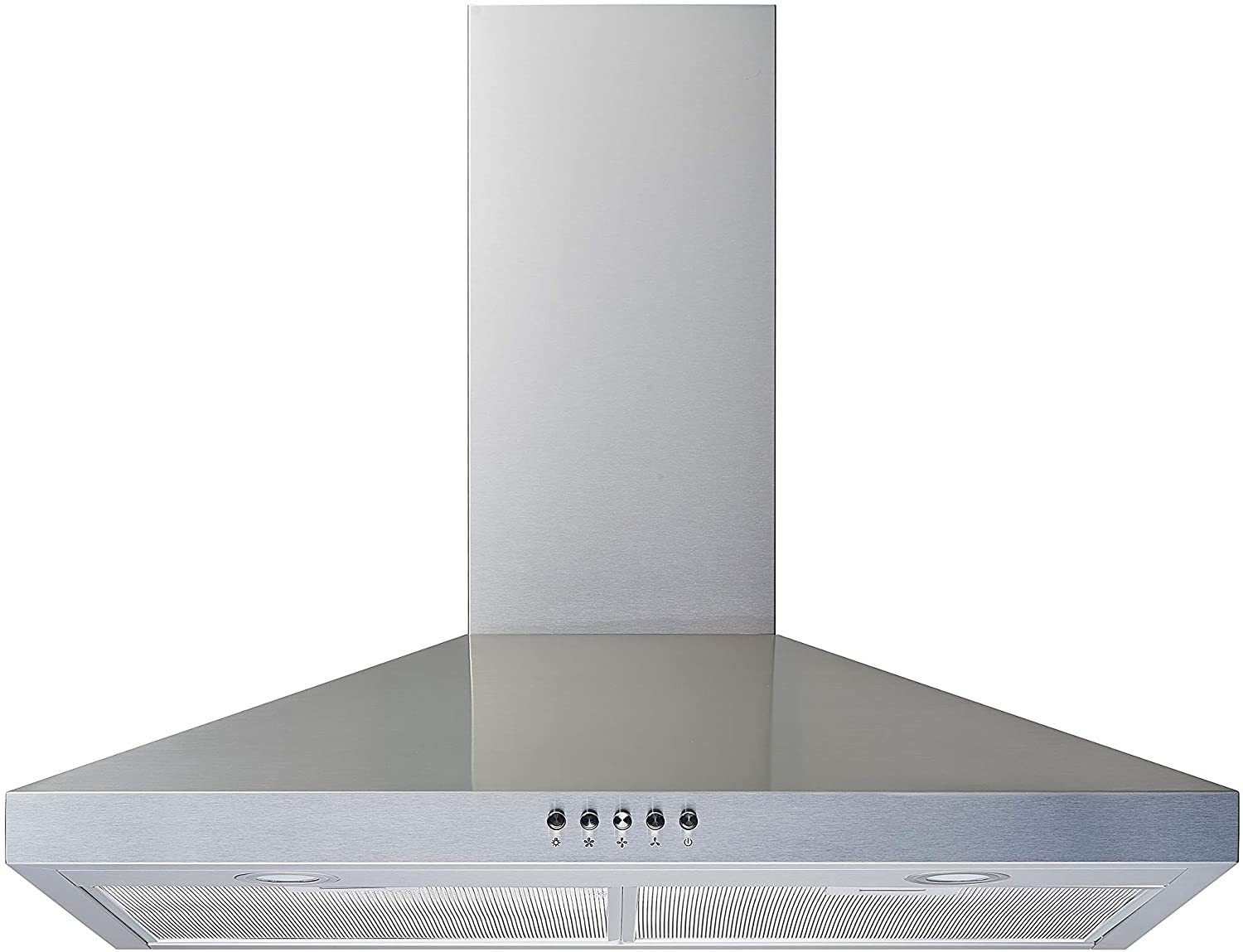 Winflo 30 In. Convertible Stainless Steel Wall Mount Range Hood