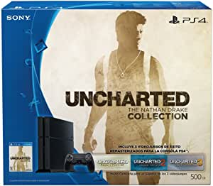 Consola PlayStation 4, 500GB + Uncharted: The Nathan Drake Collection - PlayStation 4 - Bundle Edition