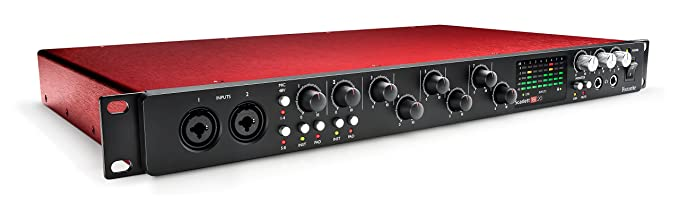 Focusrite Scarlett 18i20 (2G) USB-Audio-Interface mit Pro Tools