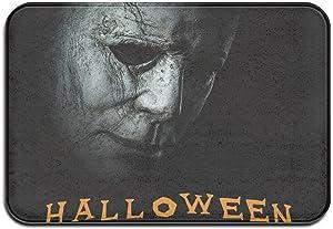 LERRZOG Mi-Cha-El_Myers Horror Movies Area Rugs Door Mat Super Soft Carpet Children's Play Mat Home Decor 16 X24 Inches