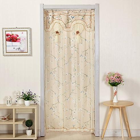 Tür Vorhang/Stoff Vorhang/Doppel-Wand Vorhang/Küche,Living Room