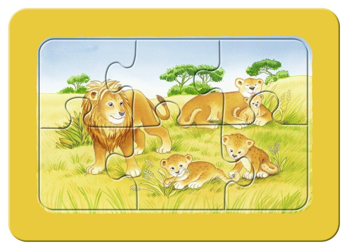 Ravensburger 06574 My First Puzzles - Puzle infantil con marco (3 x ...