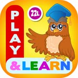 Preschool Learning Kids Games Lite for Toddler, Kindergarten and 1st Grade Girls and Boys: Tracing, Spelling, Reading, Letter Sounds (Names), Phonics, First Words, Shapes, Colors, Pumpkin Puzzles, Memory Games & Coloring Book by Abby Monkey® LITE