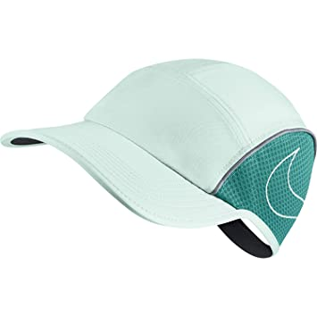 Nike Mujer aerobill Running Cap, Igloo/Turbo Green: Amazon.es: Deportes y aire libre