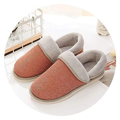 80a5c5b4ca3 New-Loft Christmas Winter Shoes Home Slippers Women Cotton Flip Flops Soft  Floor Slides Home