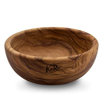 Salatschüssel Holz amazon de koro holzschale aus olivenholz durchmesser 16 cm