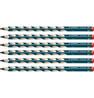 Lápiz de color ergonómico STABILO EASYcolors START - Modelo para DIESTROS - Estuche con 12 colores y 1 sacapuntas: Amazon.es: Oficina y papelería