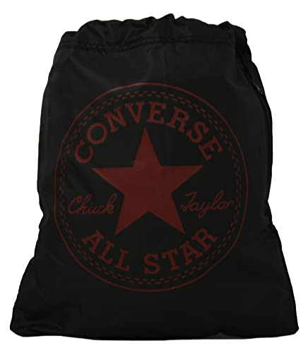 a621986cb4 New Converse Black Red Unisex Drawstring Gym Sports Bag - Black Red ...