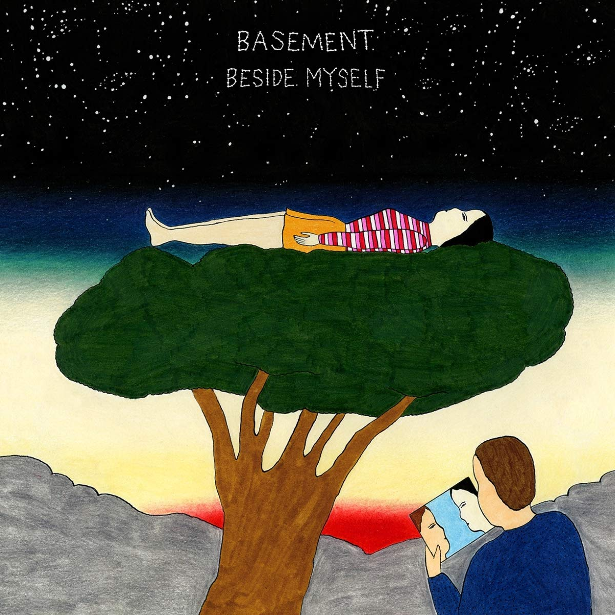 Vinilo : The Basement - Beside Myself (Red, Clear Vinyl, Digital Download Card)