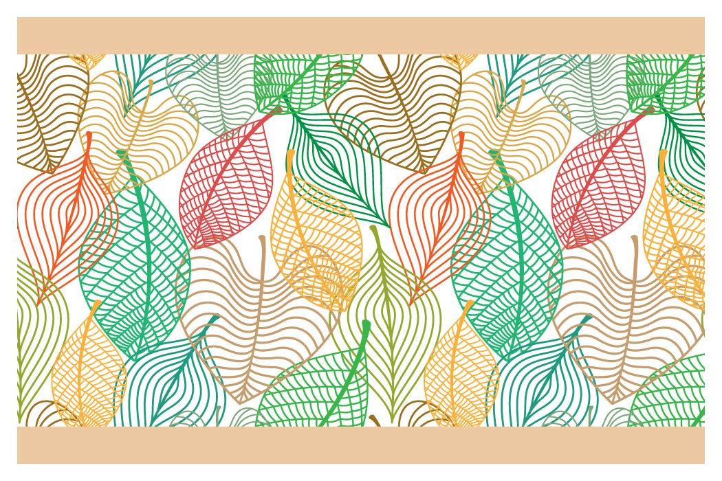 I-love-Wandtattoo b-10173 - frontera patrón de la hoja de otoño, Deco de la pared pegatinas de pared pegatinas de pared Adhesivos de pared