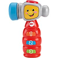 Fisher Price Laugh and Learn Tap 'N Learn Hammer, Multi Color