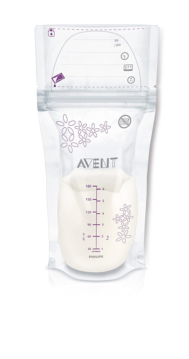 Philips AVENT Breast Milk Storage Bags, SCF603/50