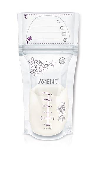 Amazon.com: Philips AVENT bolsas de almacenamiento de leche ...