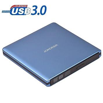 Unidad de DVD externa, regrabadora grabadora de CD/DVD RW USB 3.0, todo