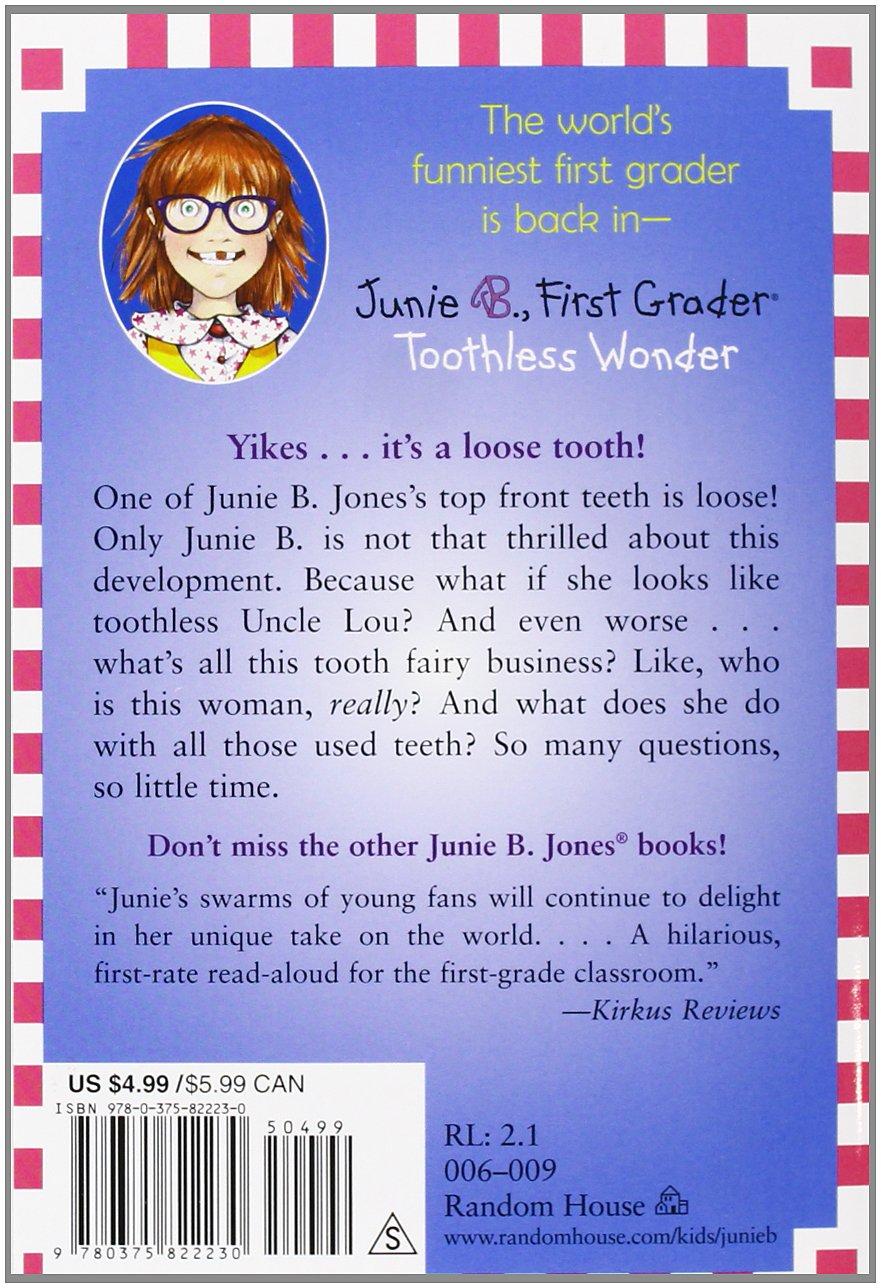 book report on junie b jones