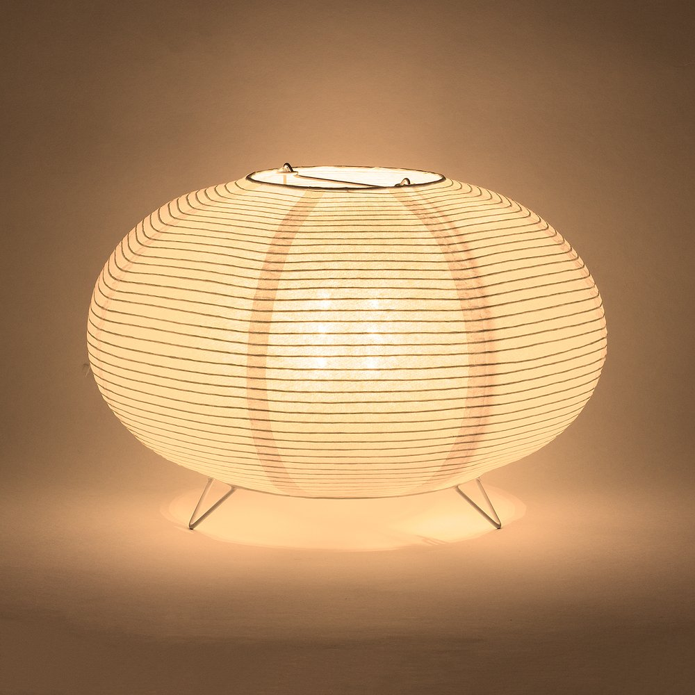 Fantado PaperLanternStore.com Saturn Fine Line Warm White LED Lantern Table Lamp Light KIT w/Remote, Omni360 Battery Powered