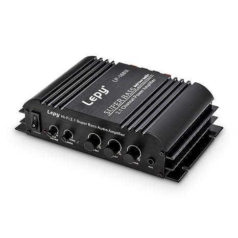 Amazon com: ONEU Audio Amplifier, Separated Subwoofer Volume