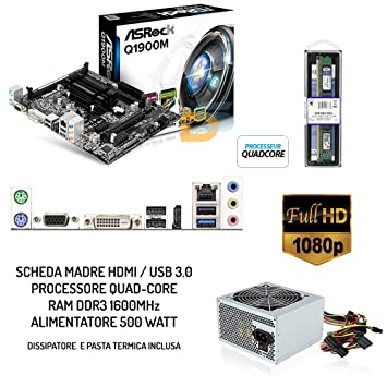 Kit PC Desktop tarjeta Upgrade HDMI Full HD + CPU QuadCore + ...