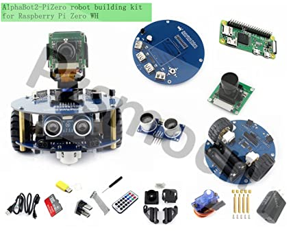 Amazon Com Pzsmocn Alphabot2 Robot Building Kit Controller