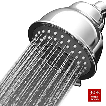 Meetyoo Rainfall High Pressure Shower Head Luxury Spa Fixed High