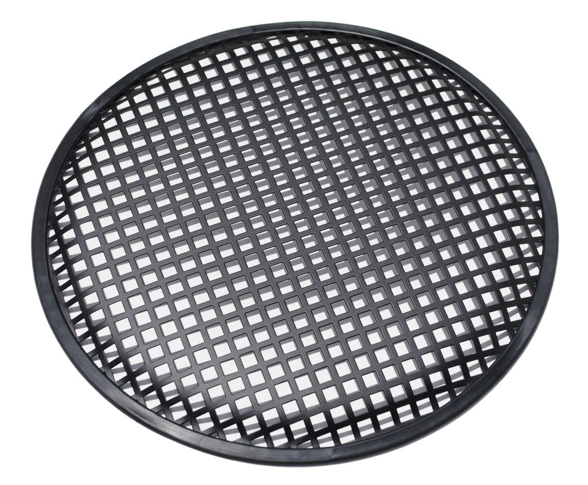 Universal 12 Inch (12'') Subwoofer Speaker Metal Grill Waffle Cover Guard by Custom Install Parts (Image #1)