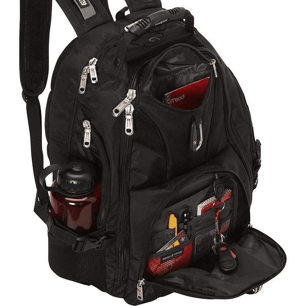 Swiss Gear - Viajes Gear 1900 Scansmart - Mochila para ordenador portátil TSA - 19002415, Negro/Gris: Amazon.es: Deportes y aire libre