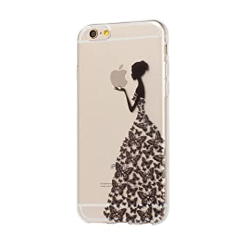 coque iphone 6 fille silicone