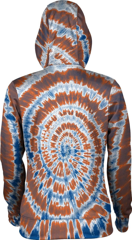 School Spirit Sweatshirt Tie Dye ProSphere Virginia State University Girls Pullover Hoodie