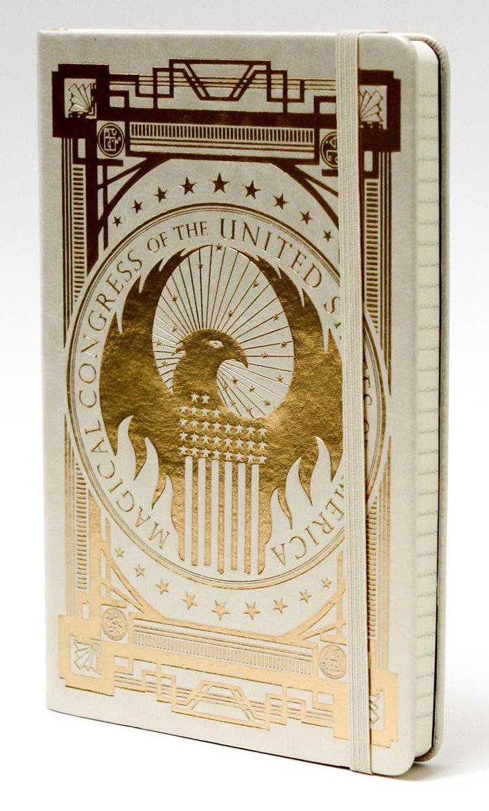 Fantastic Beasts and Where to Find them: MACUSA Hardcover Ruled Journal – HPB