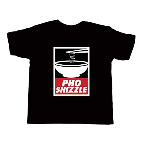 120e64b8 Image Unavailable. Image not available for. Color: Kid's Pho Shizzle shirt  - Vietnamese Funny Asian Food T-Shirt