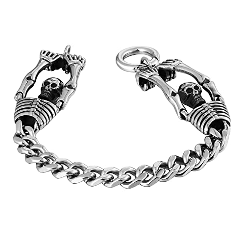 Amazon.com: Aokarry - Pulsera de acero inoxidable para ...