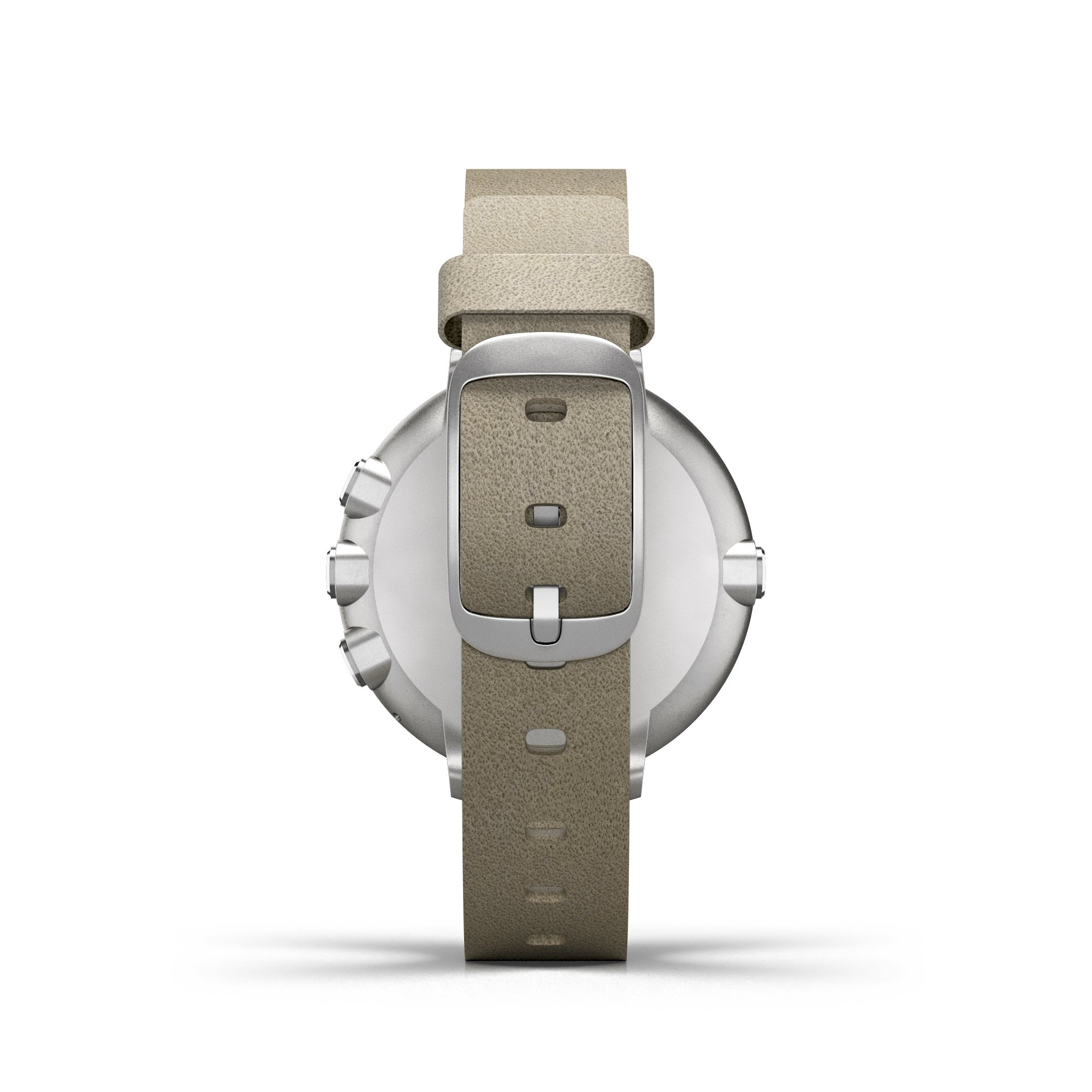 Pebble Time Round 14mm Smartwatch for Apple/Android Devices - Silver/Stone by Pebble Technology Corp (Image #2)
