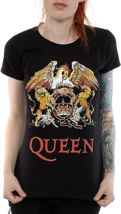 Camiseta Grupo Rock Queen Mujer