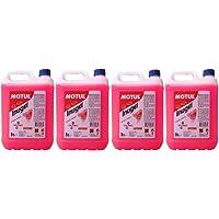 MOTUL Anticongelante Refrigerante Motor Inugel Long Life 50% G12,20 litros (4x5 lts), Color Rosa