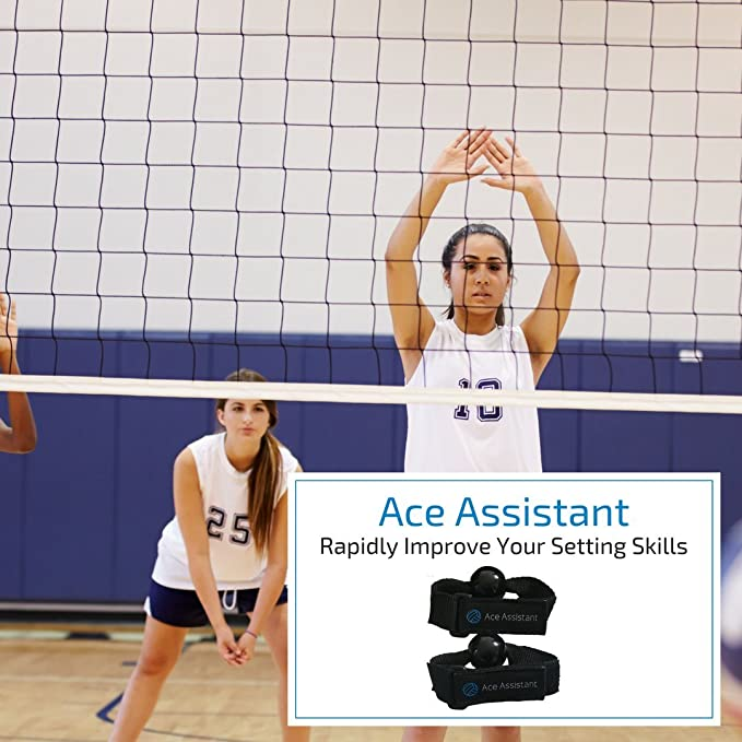 Volleyball Strap Correction Assistant for Better Setting Drills Placement